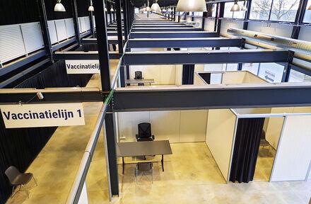 Veldeman zorgt voor infrastructuur en inrichting vaccinatiecentra - Foto 1