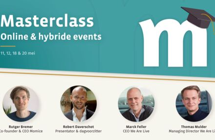 Momice 4-daagse Masterclass online & hybride events - Foto 1