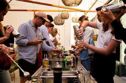 Miraeus staat er weer met hun cocktail workshops!  - Foto 1