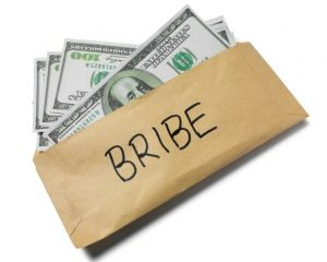 Bribery scandal with 'fake' conventions