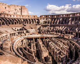 Colosseum Rome Gets New Floor and will Organize Events Again